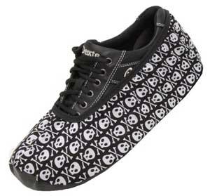 Bowling Index: Master Men's Shoe Covers (Skulls)