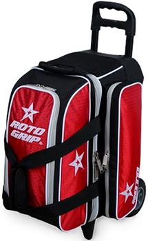 11254e93c5 Bowlingindex  Roto Grip 2 Ball Roller (Red Black)